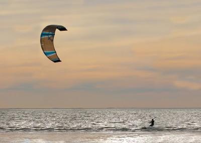 Kitesurfer in Norderney