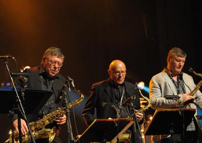Alan Skidmore, Gerd Dudek, Stan Sulzmann, European Jazz Ensemble, Viersen 2011