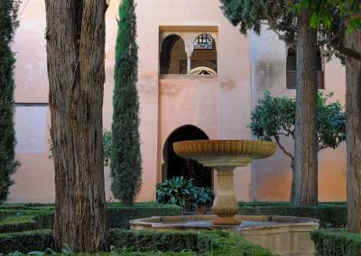 Daraxa Gärten im Nasridenpalast