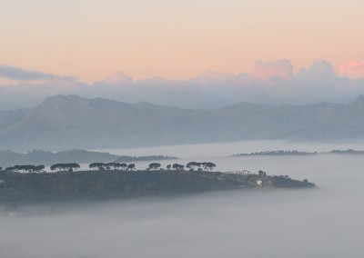 Rondatal im Nebel