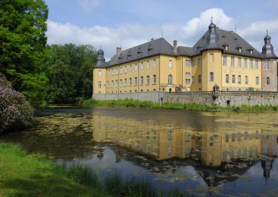 Schloss Dyck im Rhein-Kreis Neuss