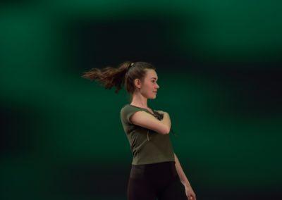 Flying Hair, H.W.Domnik