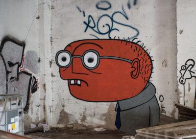 Graffiti, D-dorf Hafen