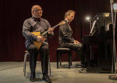 Andrei Gorbatschow und Lothar Freund